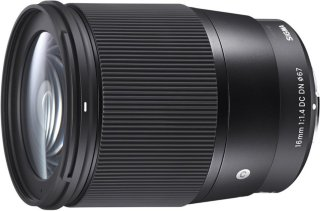 Sigma 16mm f/1.4 DC DN Contemporary for MicroFourThirds
