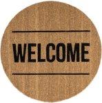 Bloomingville Welcome dørmatte