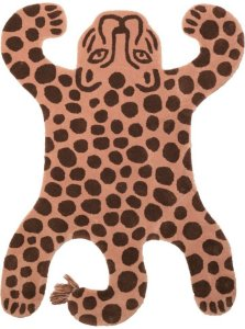 Ferm Living Safari Leopard gulvteppe