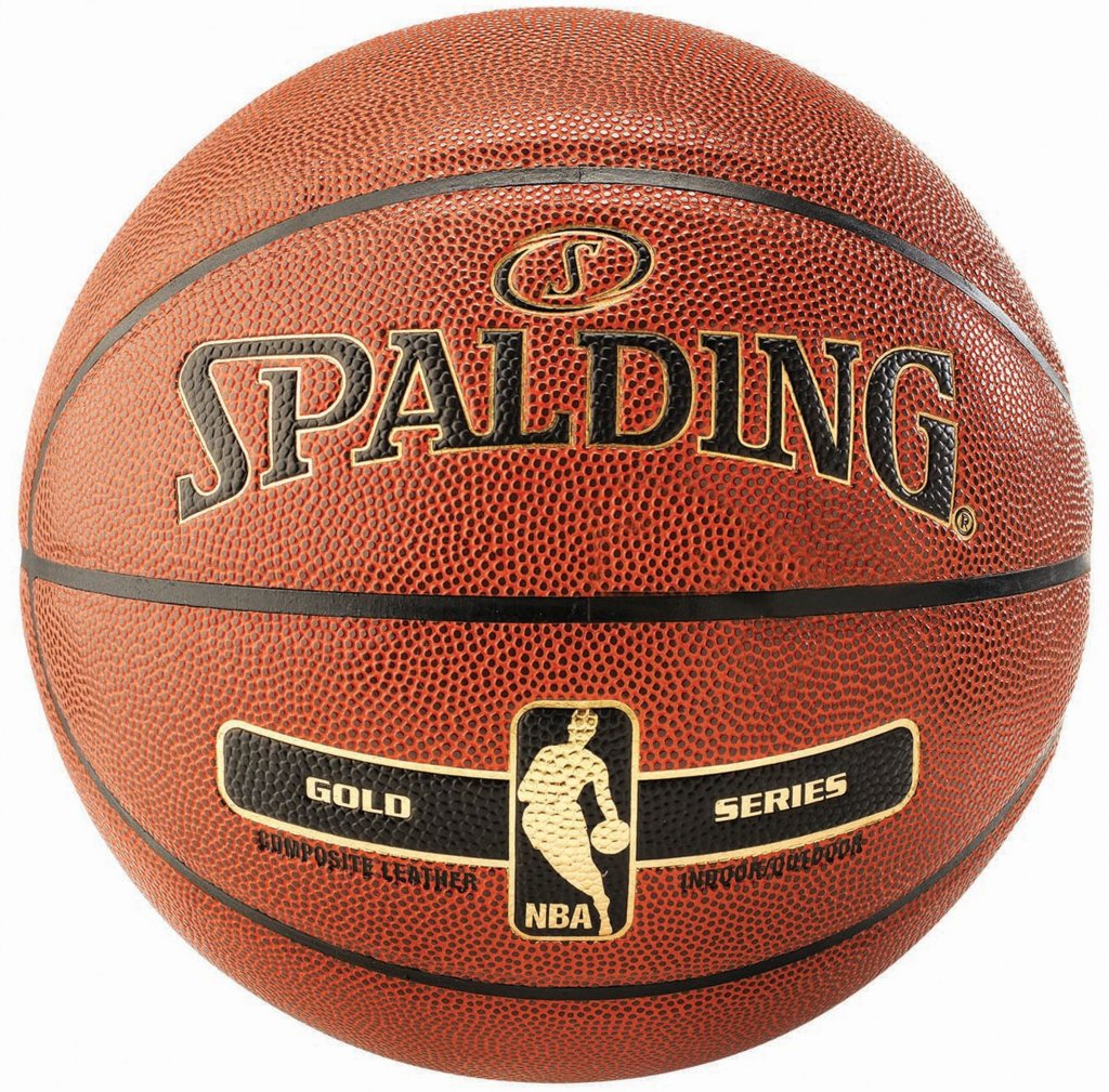 Spalding NBA Gold Series Basketball 6
