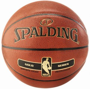 Spalding NBA Gold Series Basketball 5