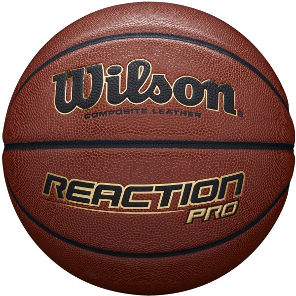 Wilson Reaction Pro Basketball Brown 7