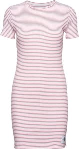 Calvin Klein Rib Short Sleeve Dress