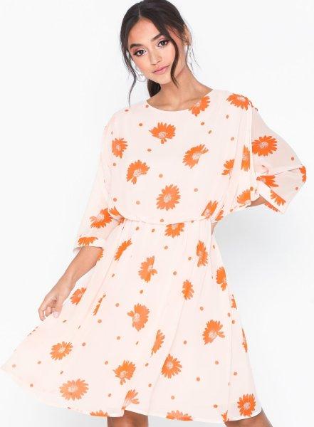 Selected Femme Oriana 3/4 Short Dress