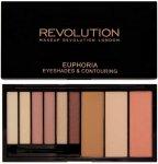 Makeup Revolution Euphoria Eyeshades & Contouring Bare
