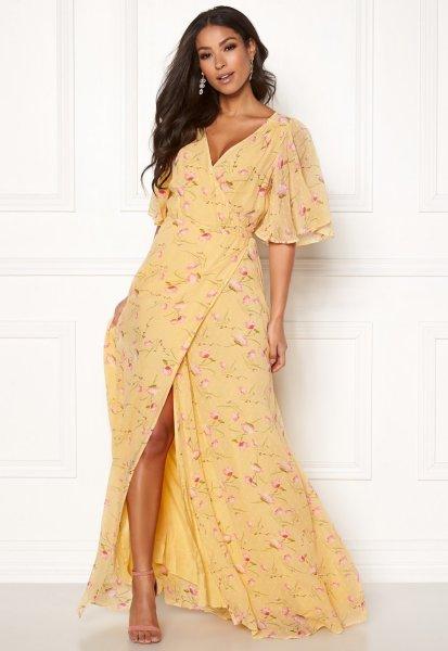 byTiMo Delicate Semi Wrap Dress 840