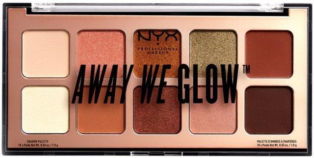 NYX Away We Glow Eyeshadow Shade Palette