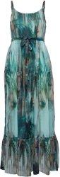 Cream Jeanne Long Dress