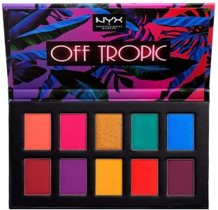 NYX Off Tropic Shadow Palette