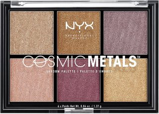 NYX Cosmic Metal Shadow Palette