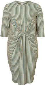 Junarose Drape Midi Dress