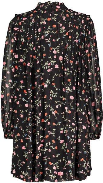 Ganni Elm Georgette Mini Dress
