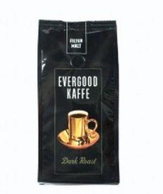 Evergood Dark Roast filtermalt 250g 12 poser