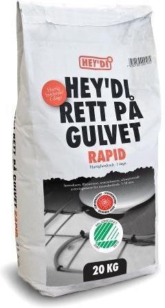 Hey'di Rett På Gulvet Rapid 20kg