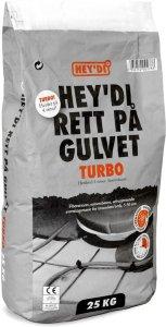 Hey'di Rett På Gulvet Turbo 25kg