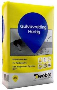 Weber Saint-Gobain Gulvavretting Hurtig 20kg