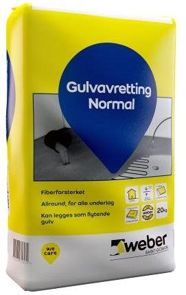 Weber Saint-Gobain Gulvavretting Normal 20kg