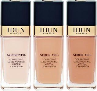 Idun Minerals Nordic Veil Correcting, Long-Wearing Mineral Foundation