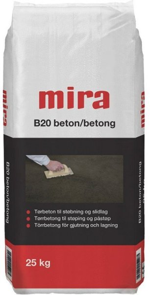 Mira Tørrbetong B20 25kg