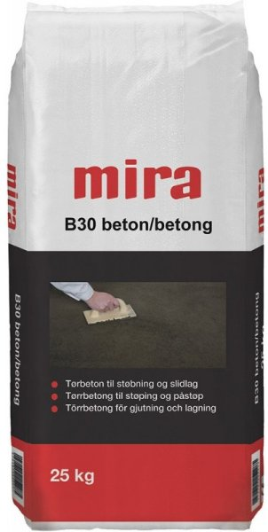 Mira Tørrbetong B30 25kg