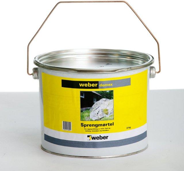 Weber Saint-Gobain Demex Sprengmørtel 2kg