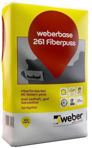 Weber Saint-Gobain Fiberpuss Base 261 25kg