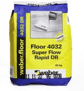 Weber Saint-Gobain Superflow Rapid DR 4032 20kg
