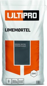 Ultipro Limemørtel 25 kg