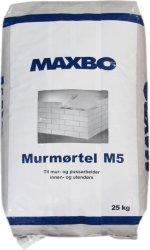 Maxbo Murmørtel M5 25kg