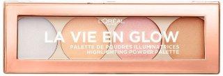 L'Oreal La Vie En Glow Highlighting Powder Palette