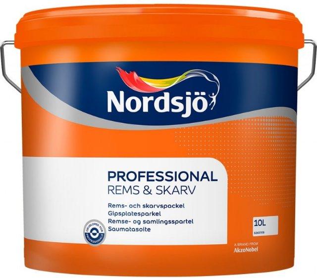 Nordsjö Professional Gipsplatesparkel 10 l