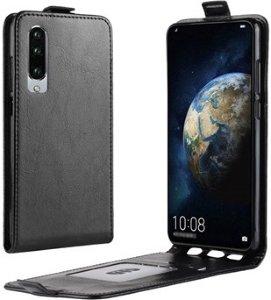 Huawei P30 Vertikalt Flip-etui