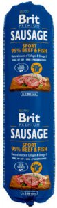 Brit Premium Biff & Fisk Kjøttpølse 12x800g
