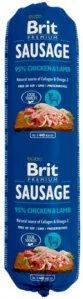 Brit Premium Kylling & Lam Kjøttpølse 12x800g