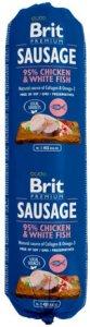Brit Premium Kylling & Fisk Kjøttpølse 12x800g