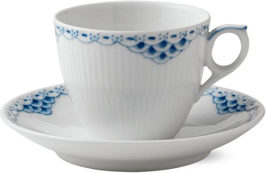 Royal Copenhagen Prinsesse kopp 17cl med skål