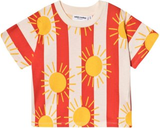 Mini Rodini Sun Stripe Tee