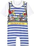Stella McCartney Kids Coconutty Print Stripe UV