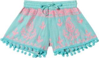 Melissa Odabash Pom Shorts