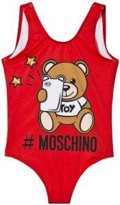 Moschino Selfie Bear Swimsuit