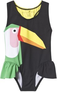 Stella McCartney Kids Ruffle Swimsuit