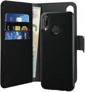Puro 2 i 1 lommebokdeksel til Huawei P20 Pro (sort