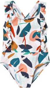 Catimini Floral Ruffle Swimsuit