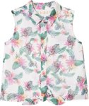 Guess Print Sleeveless Shirt