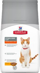 Hill's Science Plan Feline Young Adult Sterilised Cat with Chicken 1,5 kg