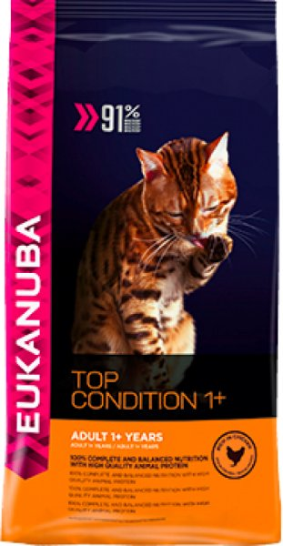 Eukanuba Cat Adult Top Condition 1+, 4 kg