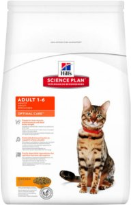 Hill's Science Plan Optimal Care Adult, 10 kg