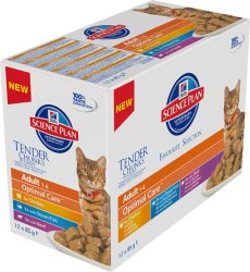 Hill's Science Plan Feline Adult Favourite Selection 12 x 85g