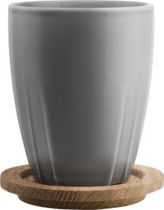 Kosta Boda Bruk kopp 35cl med lokk 2 stk