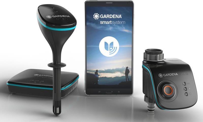 best pris p gardena smart sensor control sett se priser. Black Bedroom Furniture Sets. Home Design Ideas